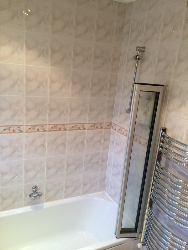 Shower installation in Ashton, in Manchester