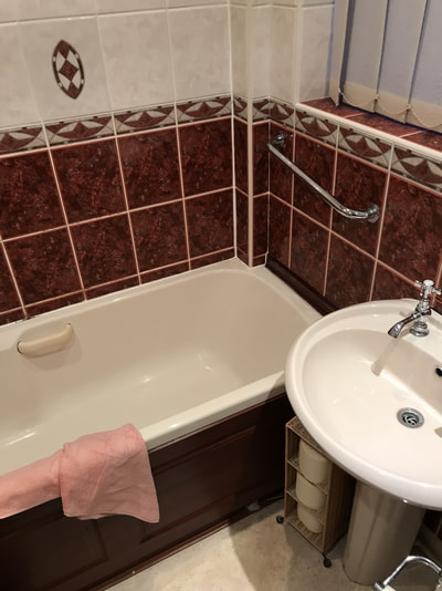 before bathroom Royton